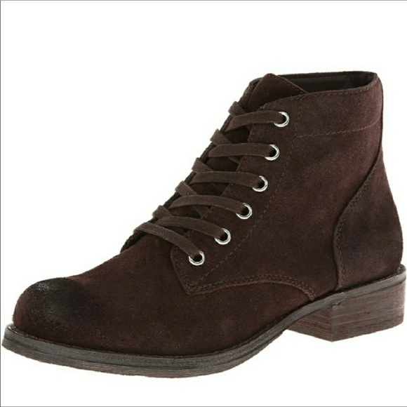 7f17ebcb953c2 Sam Edelman Brown Bleecker Lace Up Boots. M 5b82fa2774359bb23a437f22